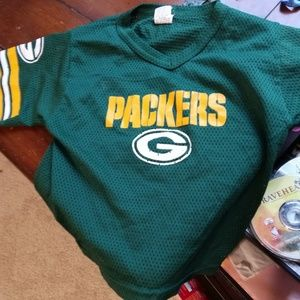 Small size packers shirt
